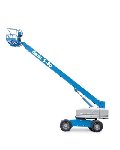 Telescopic boom lift Genie 80 feet S80 XC