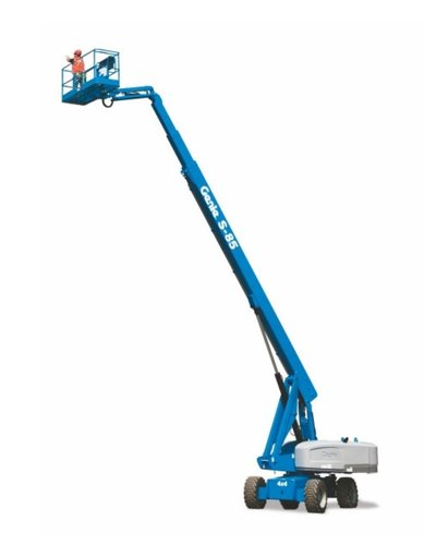 Telescopic boom lift Genie 85 feet S-85 XC