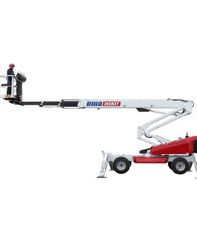 Articulated boom lift Dinolift 87RXT 80 feet