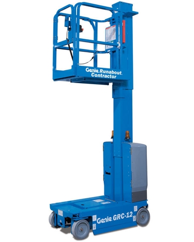 Vertical mast lift Genie 12 feet GRC-12