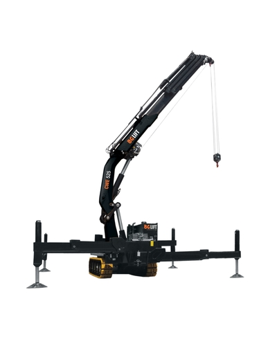 Big compact crane BG Lift CWE 525