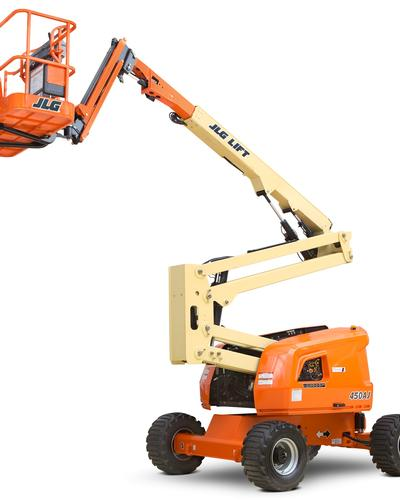 Articulated boom lift  JLG 450 AJ 45 feet