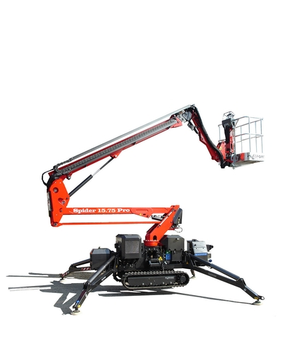 Crawler lift Platform Basket Spider 15.75 43 feet