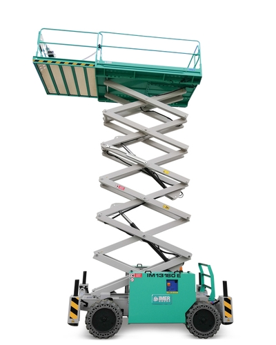Scissor lift IMER Group IM 7043RT E 43 feet