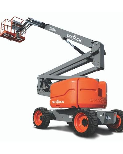 Articulated boom lift Skyjack SJ63 AJ 63 feet